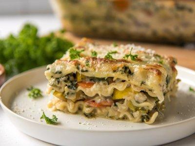 Lasagnes aux légumes confits d'été